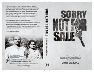 Sorry Not For Sale Book